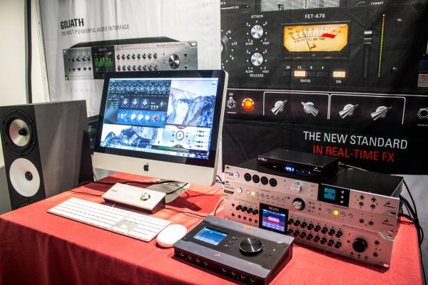 Antelope Audio Interfaces at AES Paris 2016