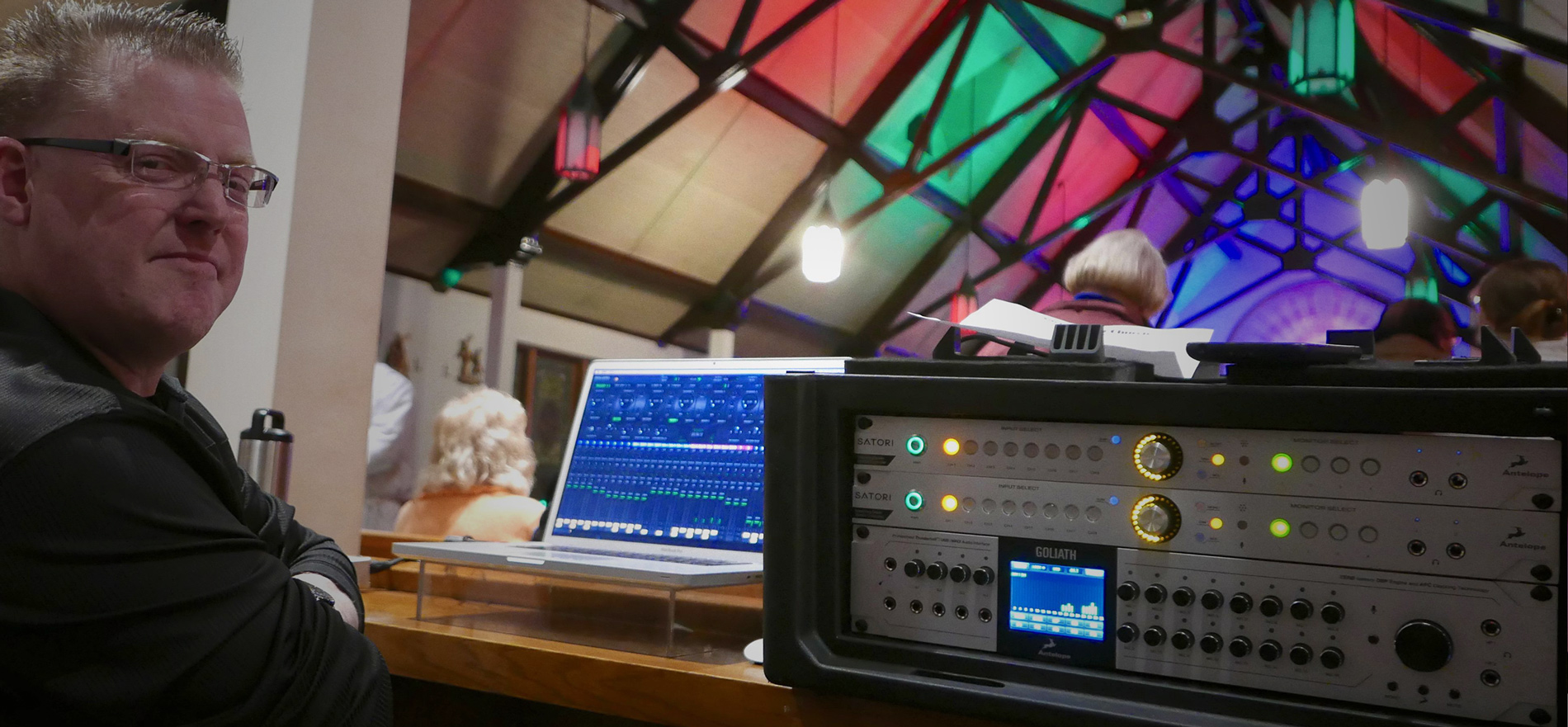 The SoundChaser™ finds the Holy Grail of Audio Technology with Antelope Audio Goliath Interface