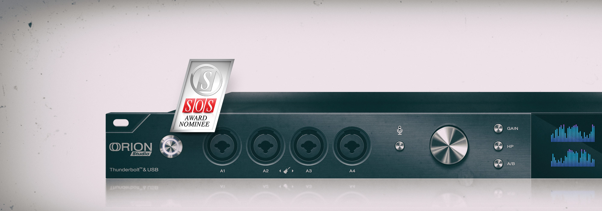 Orion Studio Nominated Best Audio Interface Award by Sound On Sound