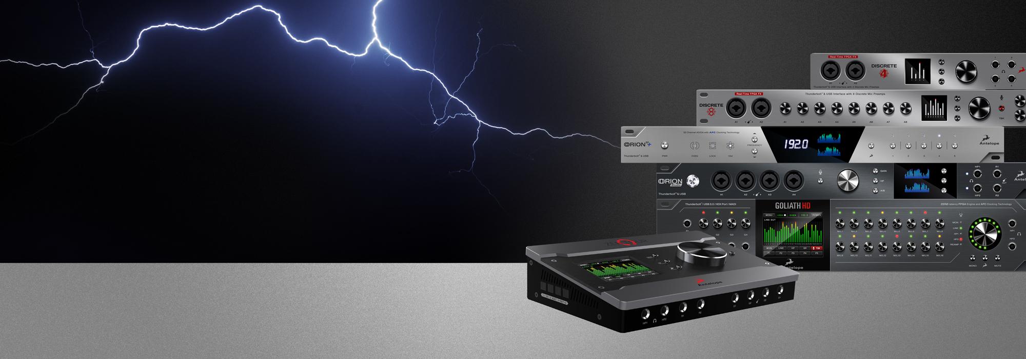 Antelope Audio Announce Windows Thunderbolt driver as part of the company's Open Beta program