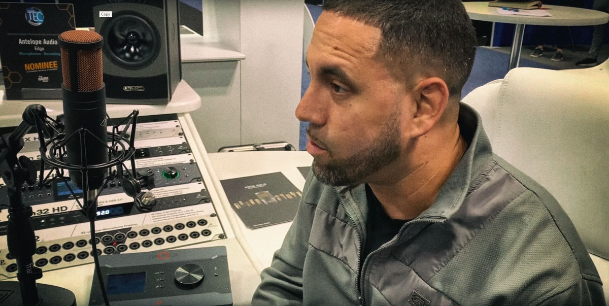 """Paul """"Echo"""" Irizarry Interviewed at AES 2018"""