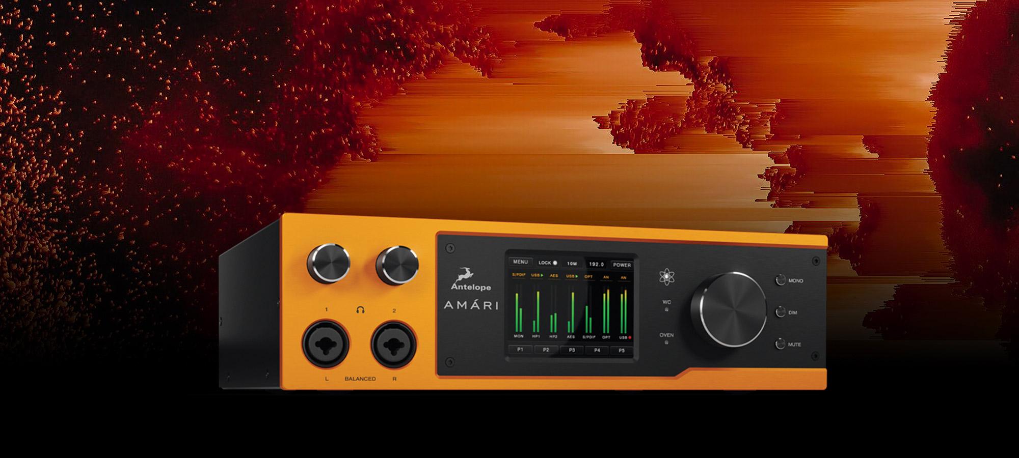AMÁRI advances audiophile conversion capability with 24-bit/384 kHz AD/DA