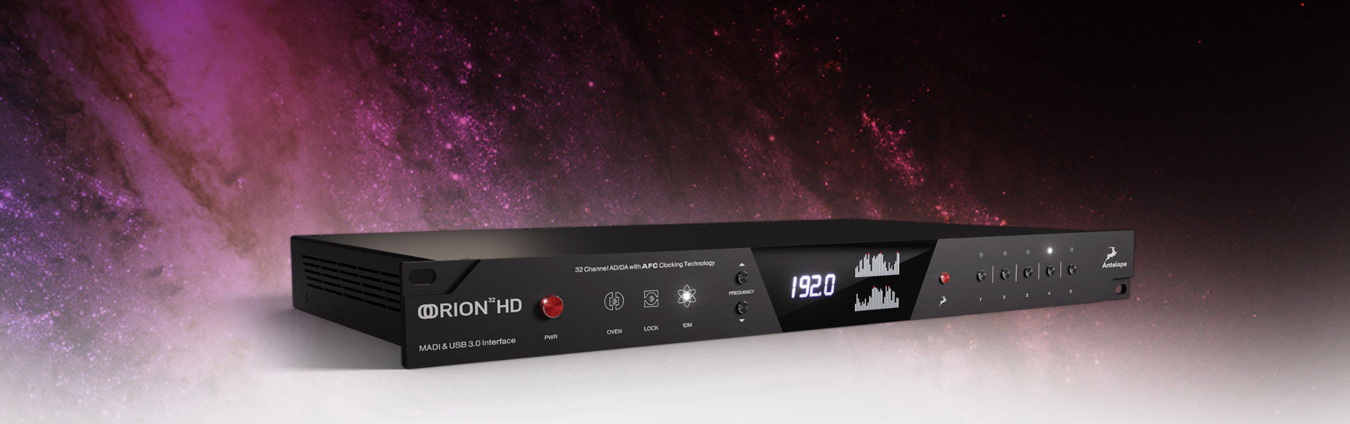 Orion 32HD | Gen 3 Audio Interface Comes With Industry-leading AD/DA and Comprehensive Connectivity