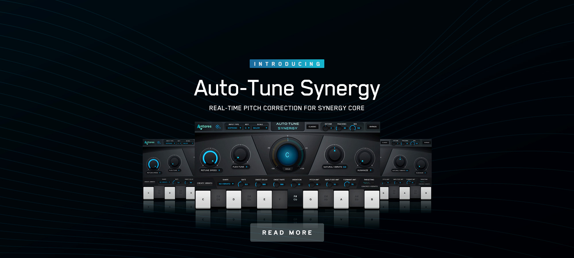 Auto-Tune Synergy Brings Live Pitch Correction to the Antelope Experience