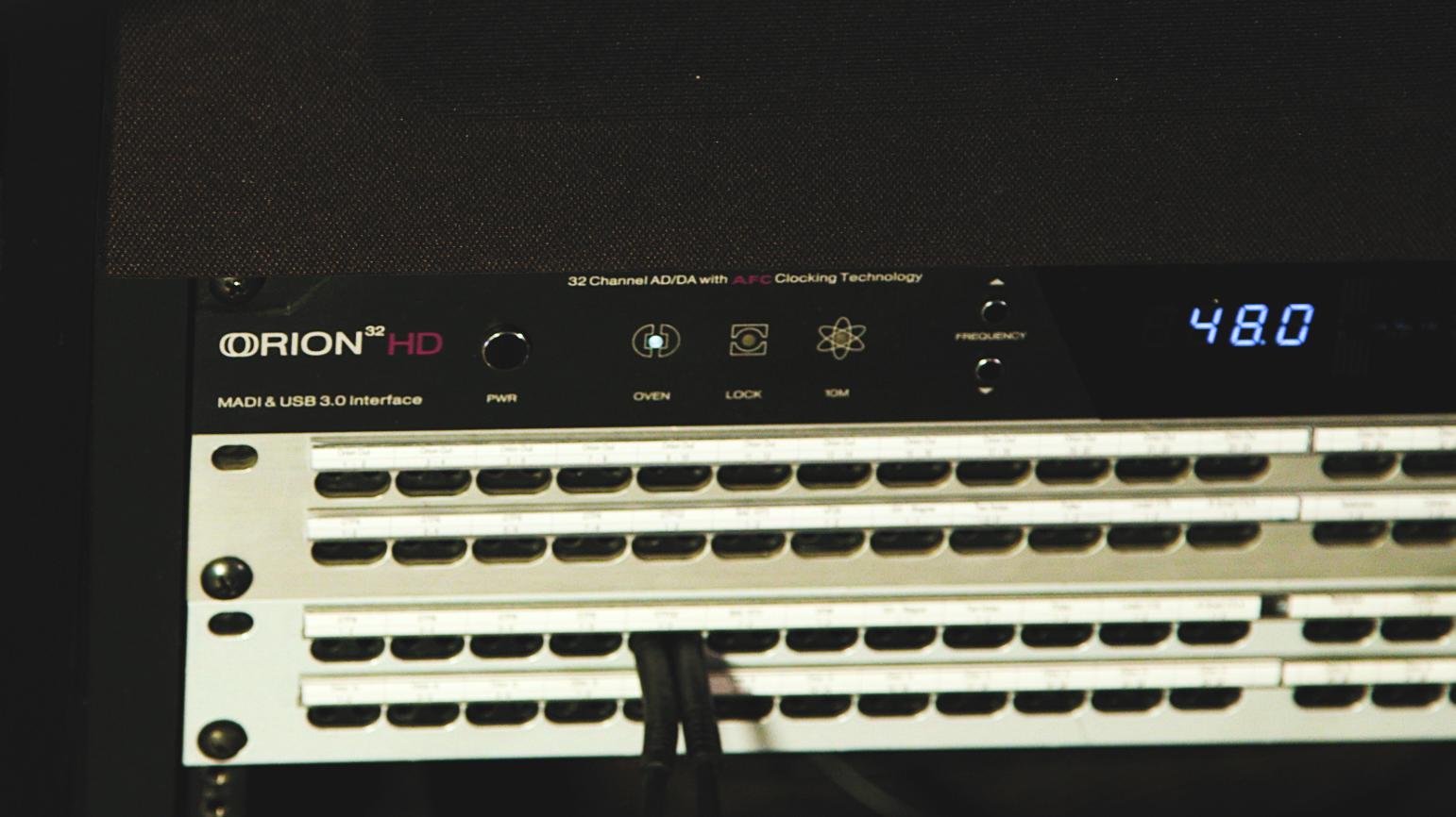 Orion 32HD | Gen 3 in a rack