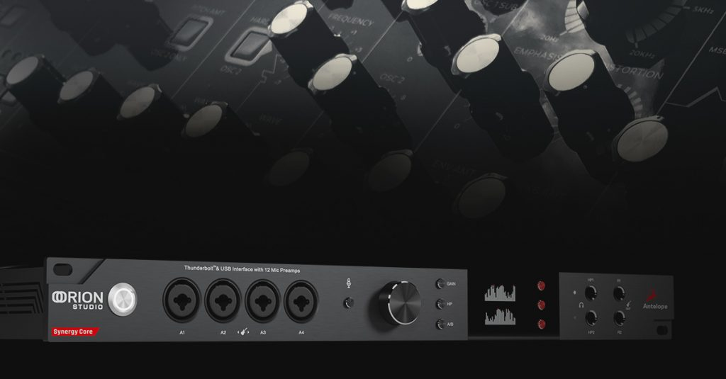 Orion Studio Synergy Core DC-coupled Interface