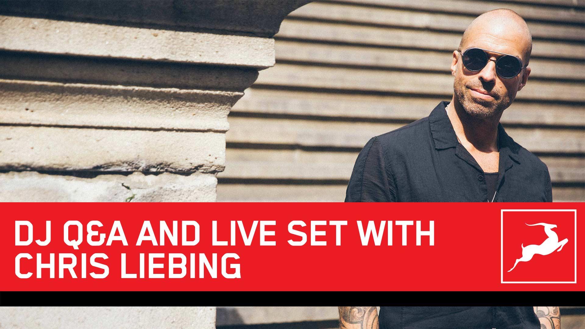 DJ Chris Liebing Live Stream