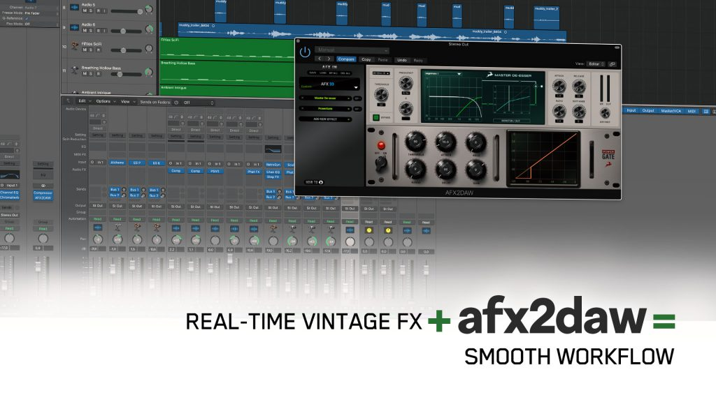 AFX2dAW Workflow