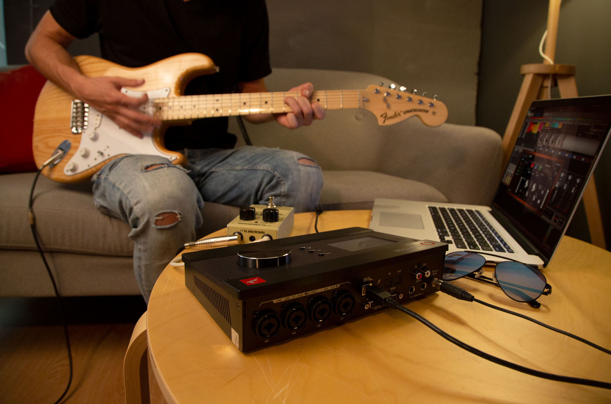 Zen Tour Synergy Core for Home Studios, recording guitar