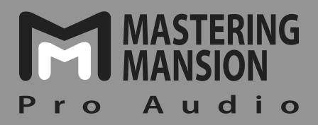 mastering mansion pro audio