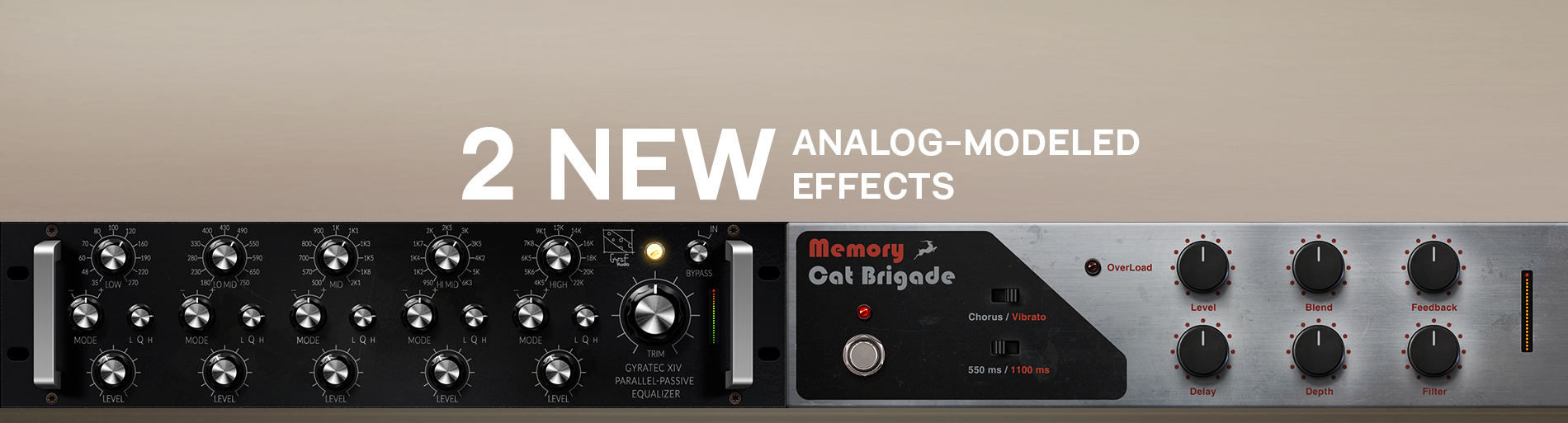 Introducing Our First-Ever Delay Effect and a New Gyraf Audio EQ
