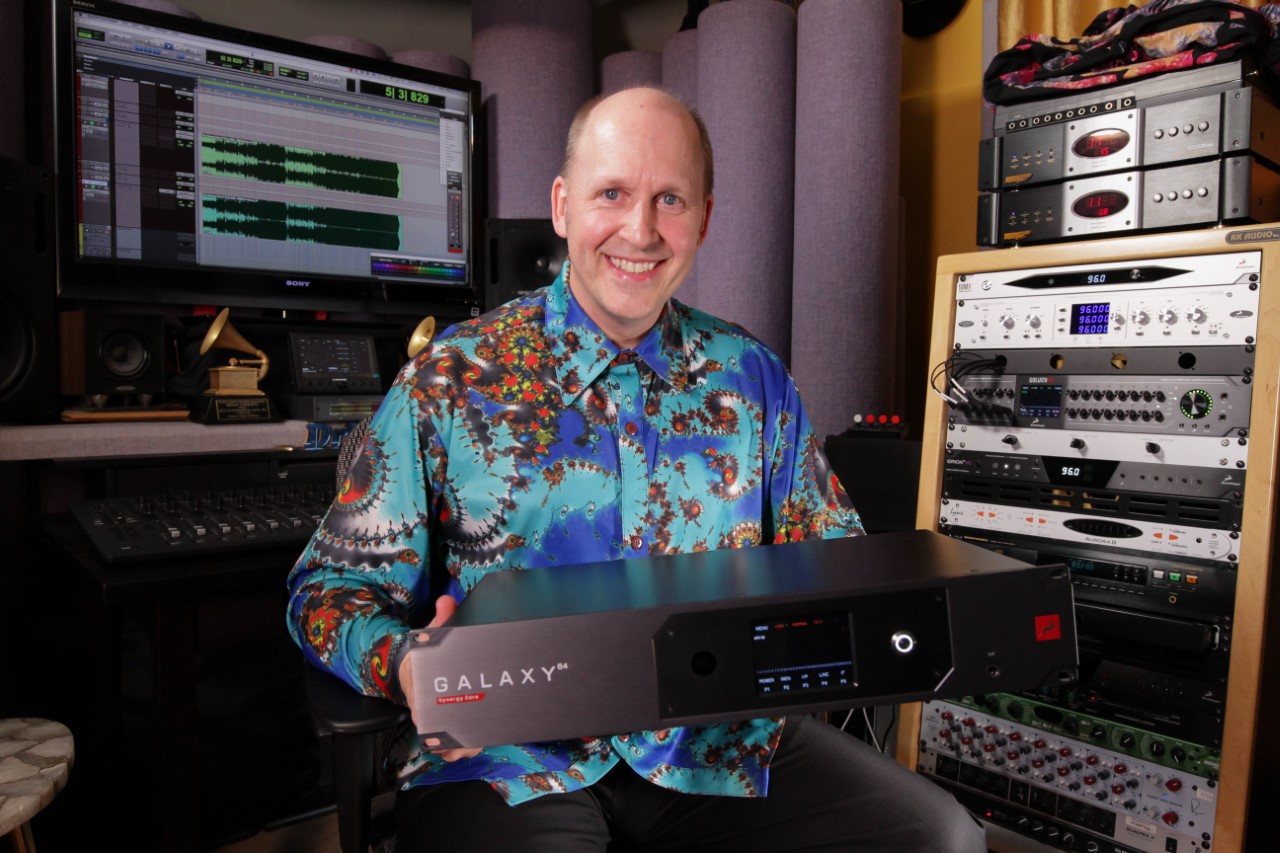 Brian Vibberts Mixing with Galaxy 64 Synergy Core