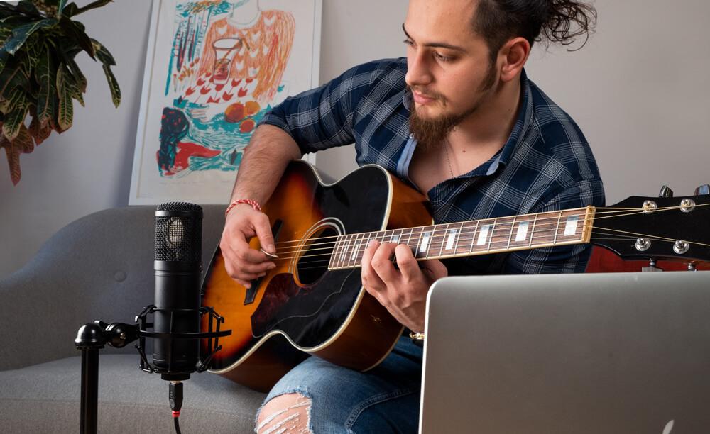 Axino home recording guitar 1