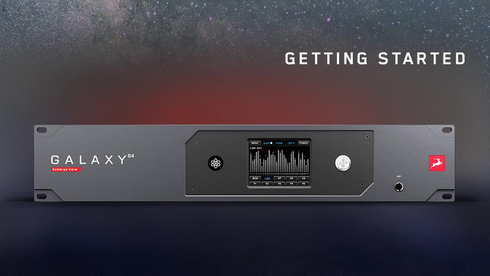 Galaxy64 Homepage web gettingstarted