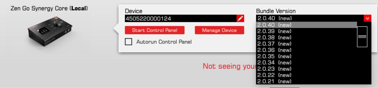 update hardware